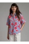 Блуза рубашечного кроя Emka B2301/garsia