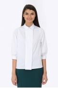 Блузка с запАхом Emka Fashion b 2192/amina