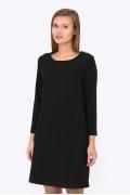 Чёрное платье Emka Fashion PL-523-1/filippa