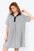 Платье в стиле Casual в мелкую полоску Emka PL-618/geliana