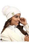 Женская шапка из шерсти  с отворотом Willi Bedara