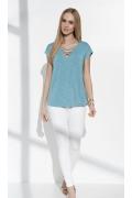 Блузка мятного цвета Sunwear I57-2