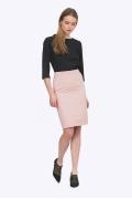 Розовая женская юбка Emka S773/fussy
