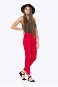 Красные брюки с завышенной талией Emka D-035/agota