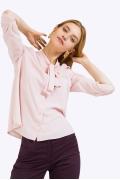Женская светло-розовая блузка Emka B2366/lily