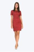 Платье-футляр из жаккардовой ткани Emka PL422/demy
