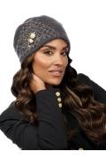 Модная женская шапка-бандана Willi Boza