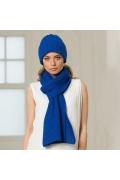 Синий шарф Landre 006
