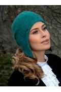 Женская меланжевая шапка Kamea Afran