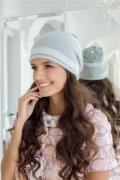 Светло-серая шапка Landre Эвелина