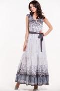 Шикарное длинное платье Remix 7095