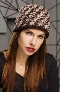 Шерстяная женская шапка SuperShapka Юта