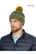 Мужская шапка с помпоном Landre Нестор