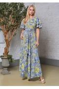 Длинное летнее платье TopDesigm Premium PA8 41