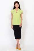 Салатовая блузка Emka Fashion b 2164/carol