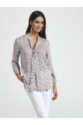 Удлиненная блузка свободного кроя Ennywear 250053