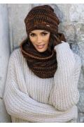Терракотовая женская шапка Kamea Reina