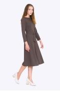 Платье расклешенное к низу Emka PL675/cava