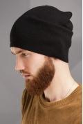 Чёрная шапка-колпак SuperShapka Интер