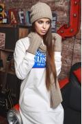 Комплект бежевый (шапка+шарф+варежки) SuperShapka Вики