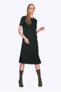 Чёрное элегантное платье Emka PL514/agrafena