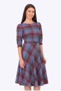 Платье в клетку Emka Fashion PL-407/britni