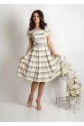 Лёгкое летнее платье из хлопка TopDesign Premium PA6 03