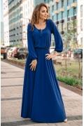 Длинное трикотажное платье Donna Saggia DSP-28-91t