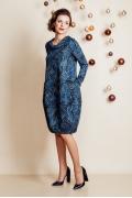 Романтическое платье-кокон TopDesign Festive NB6 18