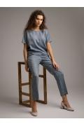 Свободная легкая блуза Emka B2462/elegant