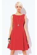 Летнее красное платье Zaps Giorgia