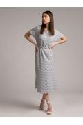 Тонкое летнее платье А-силуэта Emka PL895/pluto