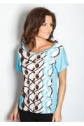 Летняя женская блузка TopDesign A7 029