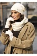 Женская шапка молочного цвета Kamea Rafaela