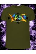 Мужская футболка Graffiti (Светится в ультрафиолете)