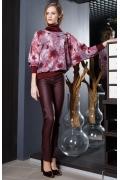 Женская блуза с высоким воротом Flaibach 031W7