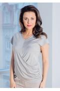 Летняя трикотажная блузка TopDesign Premium PA7 33