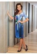 Летнее платье с коротким рукавом TopDesign A7 014