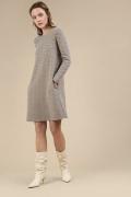 Шерстяное платье А-силуэта Emka PL898/iona