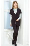 Чёрный женский жилет Andovers Z190