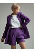 Фиолетовые женские шорты Emka P005/larch