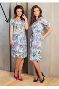 Красивое летнее платье 2017 TopDesign A7 096