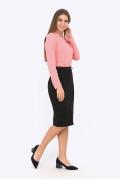 Чёрная юбка Emka Fashion 673-almaza