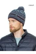 Теплая зимняя мужская шапка Landre Рафаэль