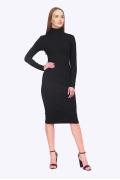 Чёрное платье-лапша Emka PL790/maxwell