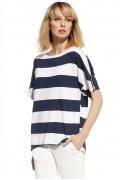 Летняя блузка в широкую полоску Enny 230114