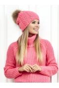 Розовая шапка Landre Ивонна
