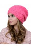 Женская шапка ярко-розового цвета Landre Астра