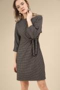 Короткое платье с цельнокроеными рукавами Emka PL872/pasadena