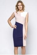 Простое недорогое трикотажное платье на лето Enny 230131